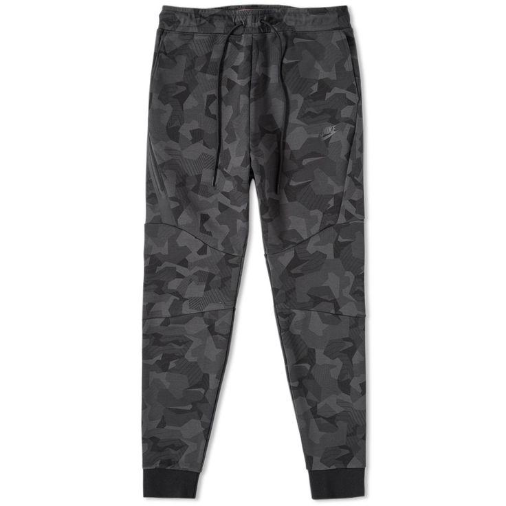 Nike Tech Fleece Camo Jogger (Anthracite & Noir)