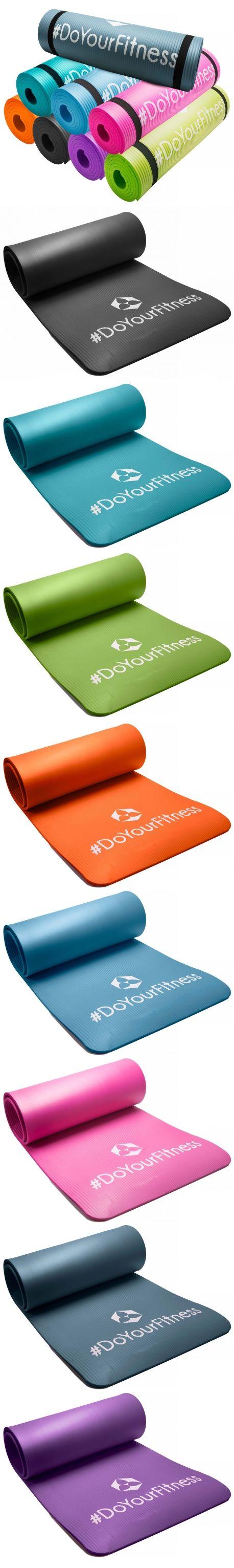 Du suchst noch eine Fitnessmatte? #DoYourSports bietet dir Markenqualität zu günstigen Preisen