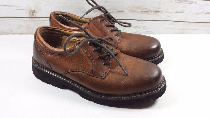 Professor, Zapatos de Cordones Derby para Hombre, Marrón (Brown-Leather Brown-Leather), 41 EU Bertie