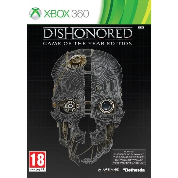 Dishonored Game Of The Year (GOTY) Game Xbox 360 | http://gamesactions.com shares #new #latest #videogames #games for #pc #psp #ps3 #wii #xbox #nintendo #3ds
