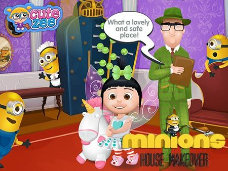 Here you can free play Minions House Makeover game online Minions House  Makeover game is. House Makeover Games