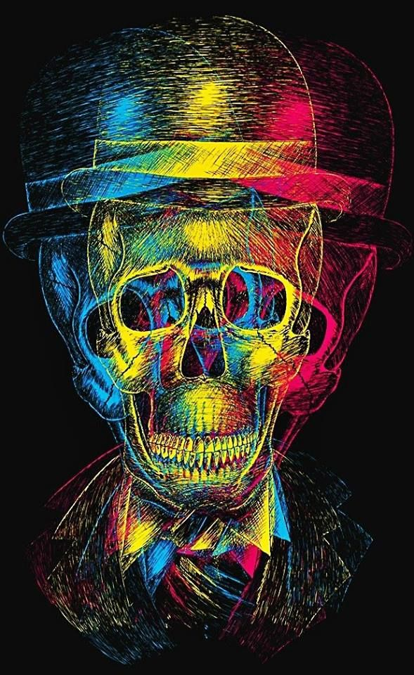 Skull http://www.creativeboysclub.com/tags/we-love-skulls