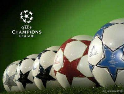 Los balones de la champions leage de bonito a bonito