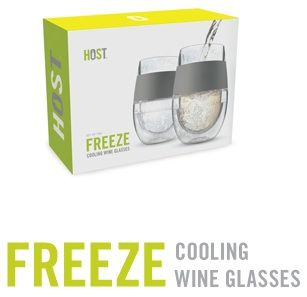 Cooling wine glasses. Adding these to my christmas wish list. [Host Studios Wine Products]