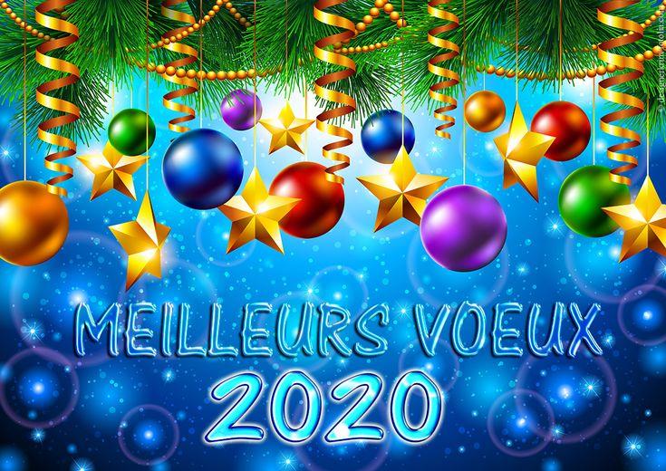 Une jolie carte virtuelle | Cartes de voeux gratuites, Souhaiter la bonne année, Bonne année