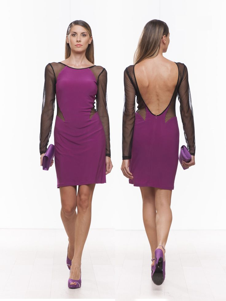 #springsummer2015 #violet #minidress #sexy #sensual #cocktaildress #partydress #fashion #stretch #models #fashion #style