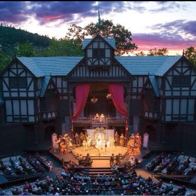 Shakespeare festival - Ashland, Oregon