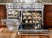 Thermador Pro Grand Steam Range. Complete oven lust.Dreams Kitchens, Steam Range, Dreams House, Kitchens Appliances, Kitchens Products, Modern Kitchens, Ovens, Pro Grand, Grand Steam