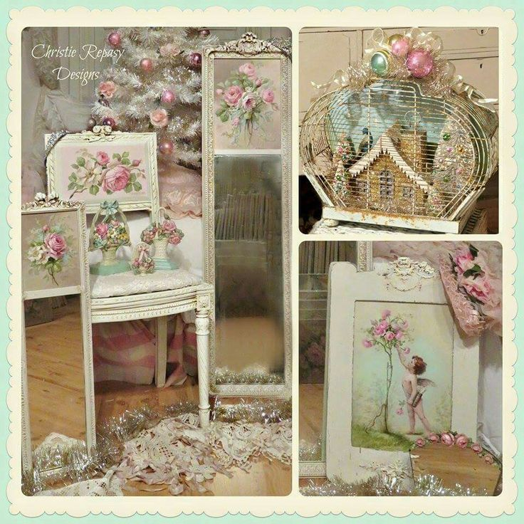 707 best vintage show 39 s i do images on pinterest vintage for Deco shabby chic pas cher