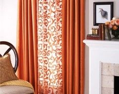 Mixing Solid And Patterned Curtains Home Decorables