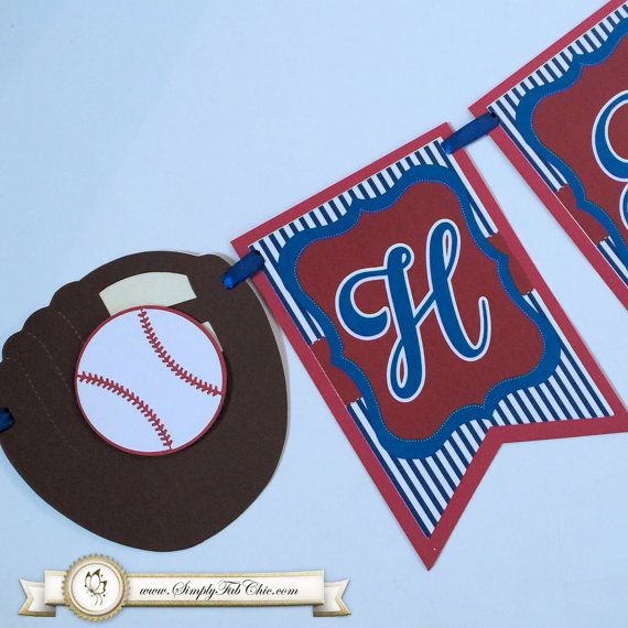 Baseball Birthday Banner / Sports Banner