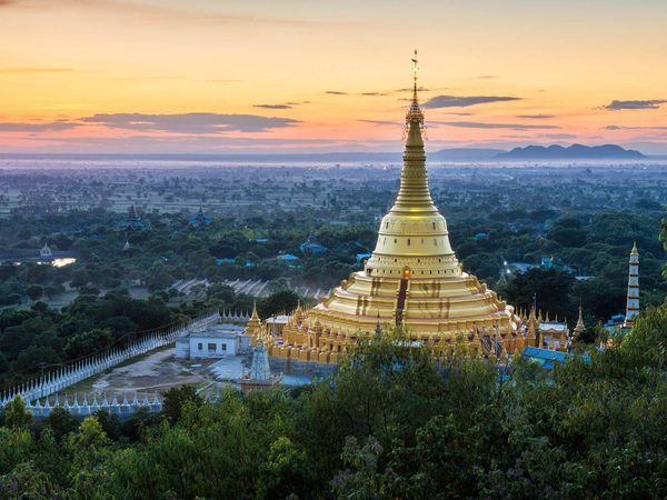 The town of Monywa may not be the most well-known destination in Myanmar but it's home to some of the most fascinating Buddhist sites you'll ever see.