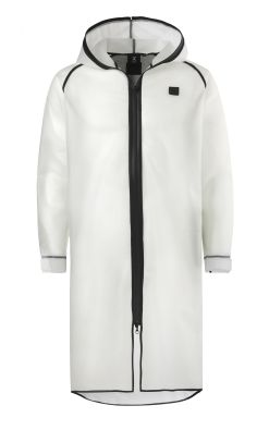 Onepiece Influence Rain Jacket Transparent blanc