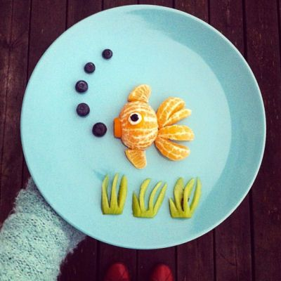 25 best ideas about easy food art on pinterest food for Art of food decoration