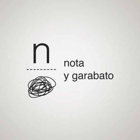 Nota y Garabato. Algo que tu haces único