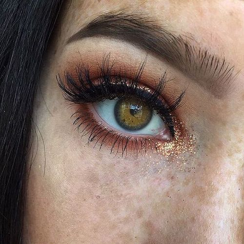 copper eyes.