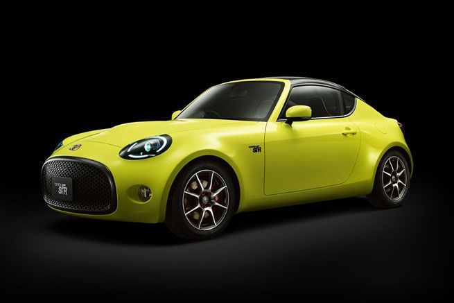 Toyota S-FR. Pitched as an entry-level model, its focus is on responsiveness and character that can make a new generation fall in love with driving. Toyota sees it as the kind of car that can attract its own die-hard fan base of drivers and customisers.