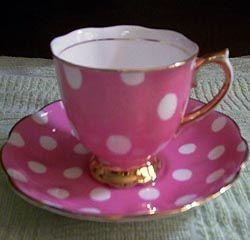 Royal Albert - Polka Dots pink, my favourite one.: