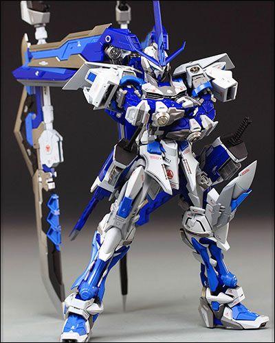 [Gundam] MG Gundam Astray - Ultimate Blue (Built by 肯德基怪叔叔)