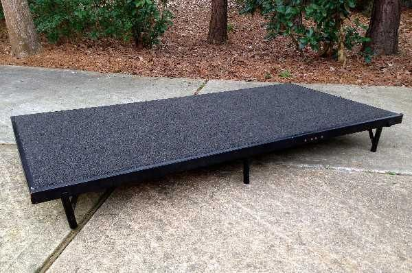 Black Portable Stage 6 Feet X 3 Feet (great Condition) Dance, Performance - The Woodlands Texas Miscellaneous Items For Sale - Miscellaneous Items Classifieds on Woodlands Online