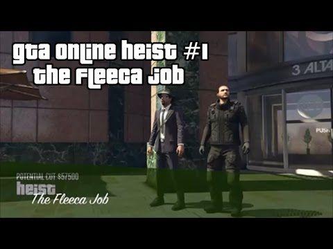 GTA Online Heist #1 - The Fleeca Job
