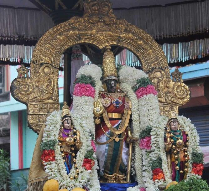 Parthasarathy perumal Rohini nakshatira purappadu
