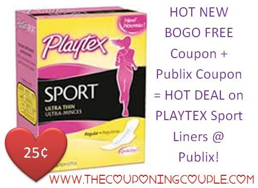 ***HOT PLAYTEX SPORT DEAL @ PUBLIX with NEW PRINTABLE COUPON and PUBLIX STORE COUPON**** Just 25¢ each!  Click the link below to get the BREAKDOWN and DIRECT LINK TO THE COUPON ► http://www.thecouponingcouple.com/hot-playtex-sport-deal-at-publix-new-bogo-coupon-publix-coupon/  #Coupons #Couponing #CouponCommunity  Visit us at http://www.thecouponingcouple.com for more great posts!