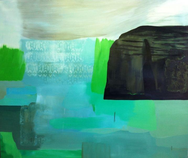 Jo Darbyshire oil painting