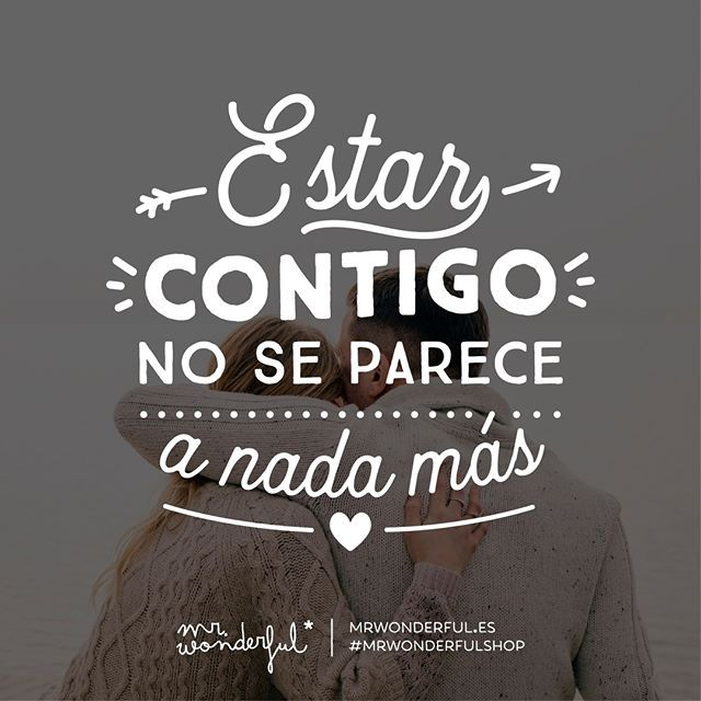 ¡Te quiero y te requiero! There is nothing else like being with you. I love you more than a lot. #mrwonderfulshop #quotes #love #loveyou