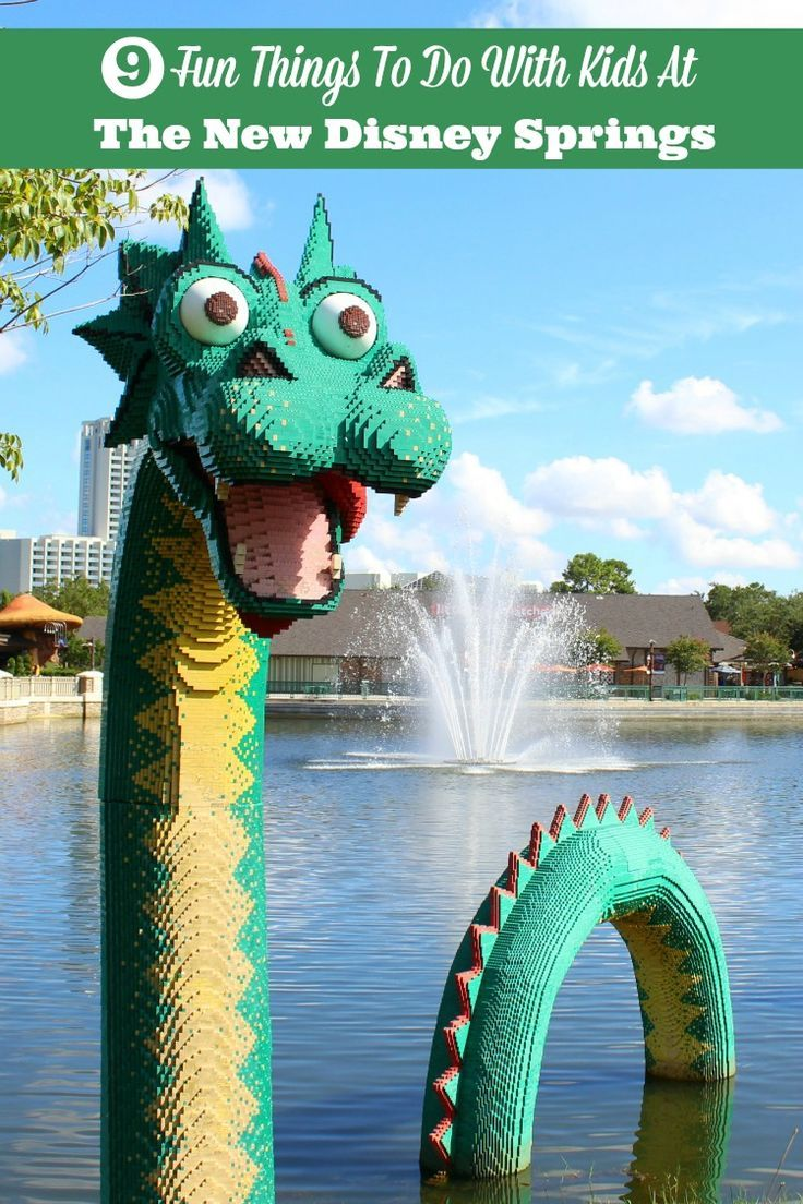 Planning a family vacation to Orlando, Florida? From making their own light sabers to watching cars transform into boats, find out what makes the new Disney Springs, Florida such a great place to take the kids.