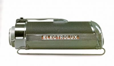 Streamlined Design: Modernity in America - 1930s Electrolux vacuum cleaner