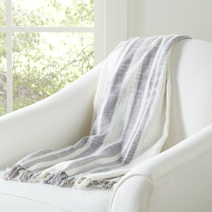 Layer your favorite reading nook chair with this chic throw, or drape it over the parlor settee for cozy afternoon naps.
