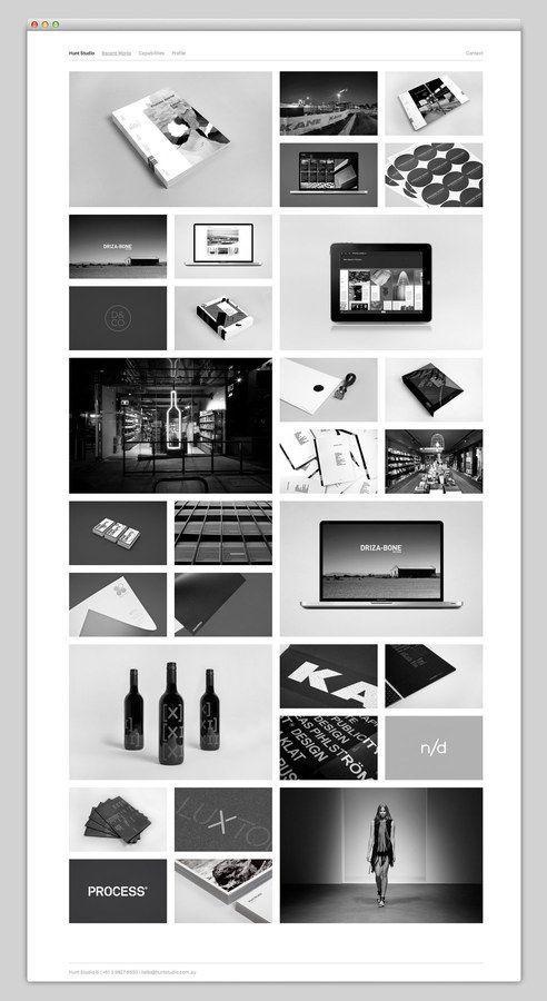 The Web Aesthetic / Hunt Studio — Designspiration