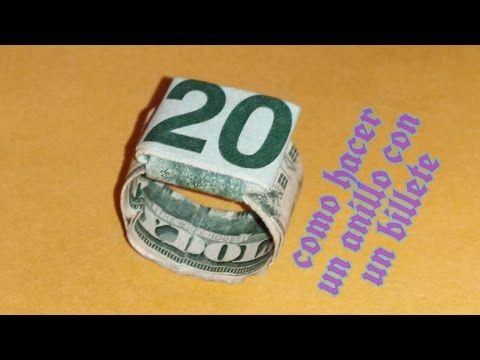 Como hacer una Cruz con un dolar  origami tutorial dollar cross with in God we trust - YouTube
