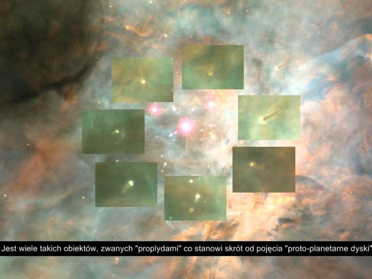 Mgławica Oriona w Teleskopie Hubble'a
