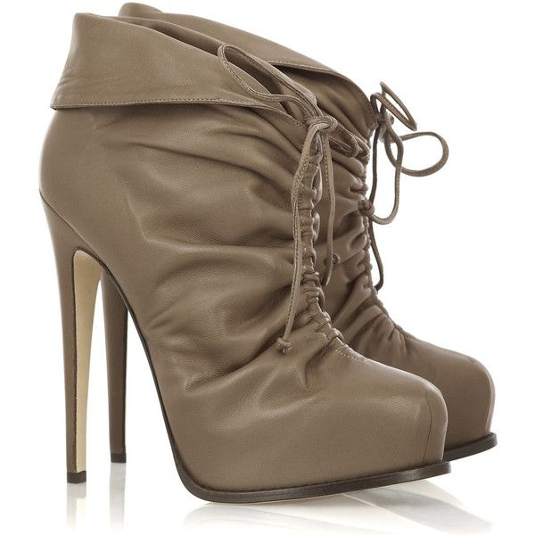 Brian Atwood Miri leather ankle boots: Clothing, Design Handbags, Fall Booties, Beauty Shoes, Boots Beige, Brian Atwood, Pictures, Leather Ankle Boots, Kicks