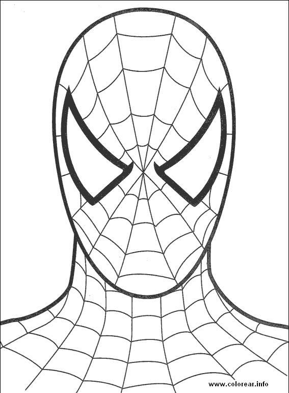 Spiderman Diagram Four Lines On Top And Four On Bottom Kids