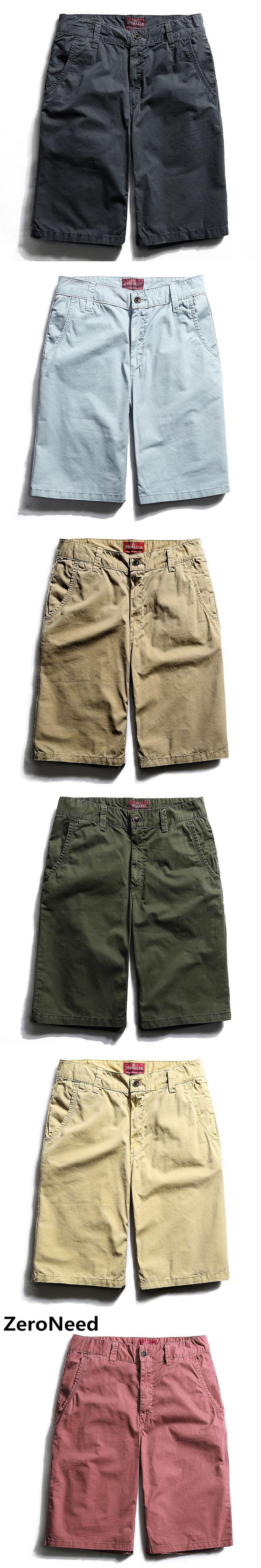 2017 Hot Summer Casual Cargo Shorts Bermuda Shorts Brand Men Khaki Trousers Workout Wear Bottoms Homme Joggers mma Short 202
