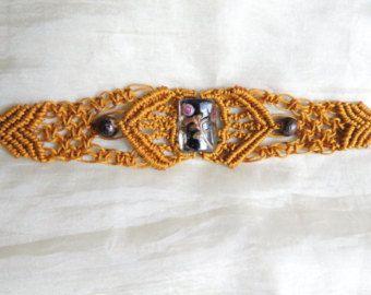 Macrame bracelet  old dold