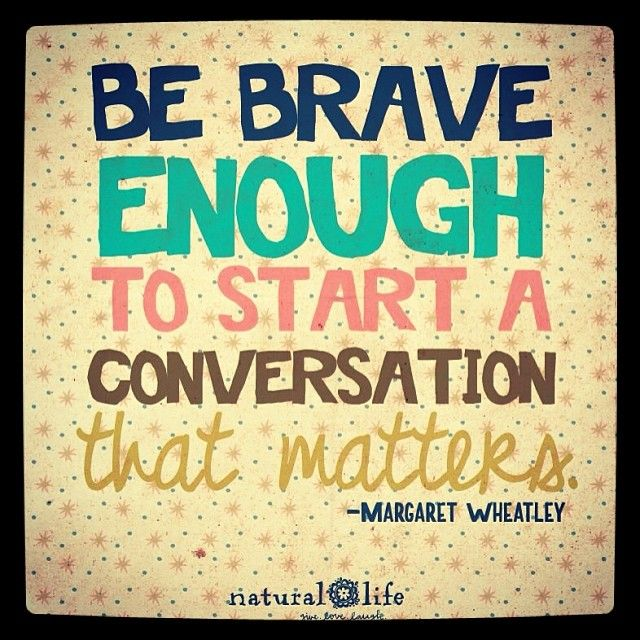 Be brave!!!  This is the why I want o be when it comes to being a witness for Christ....do it afraid! But do it!.