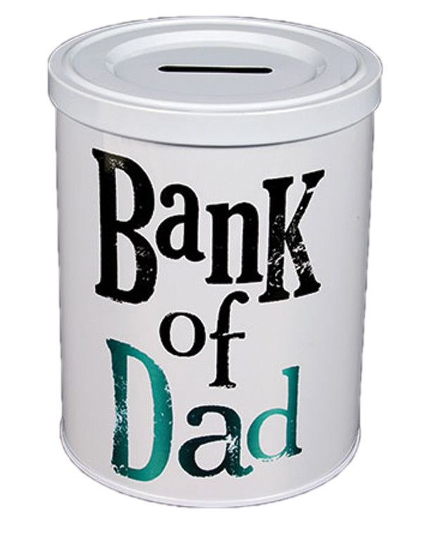 Bank of Dad - fun fathers day gift