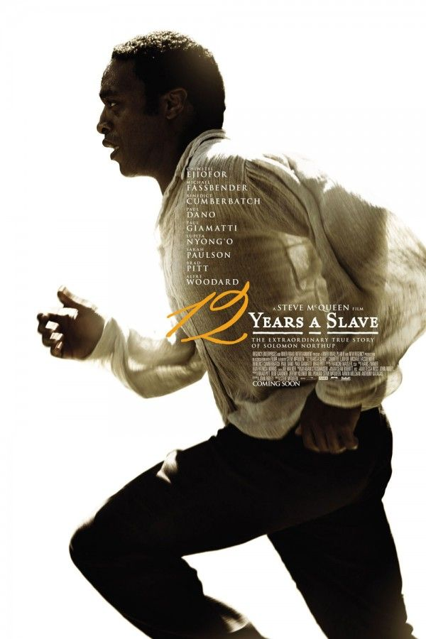 12 Years A Slave - shoutout to my favorite movie company, Fox Searchlight, and to Nadiya who finalized the poster!!