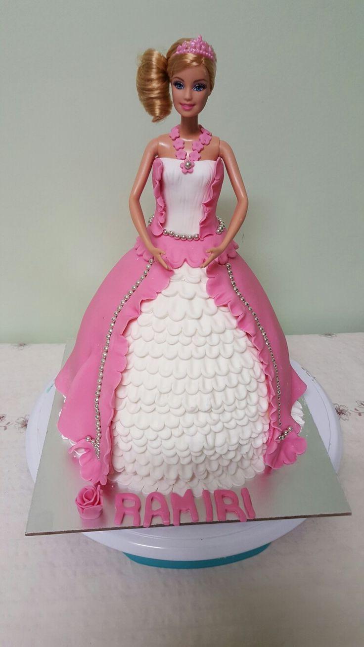 A doll cake