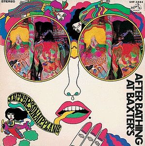 Jefferson Airplane / After Bathing At Baxter's                                         ART :田名網敬一                             1968 JAPAN ONLY COVER