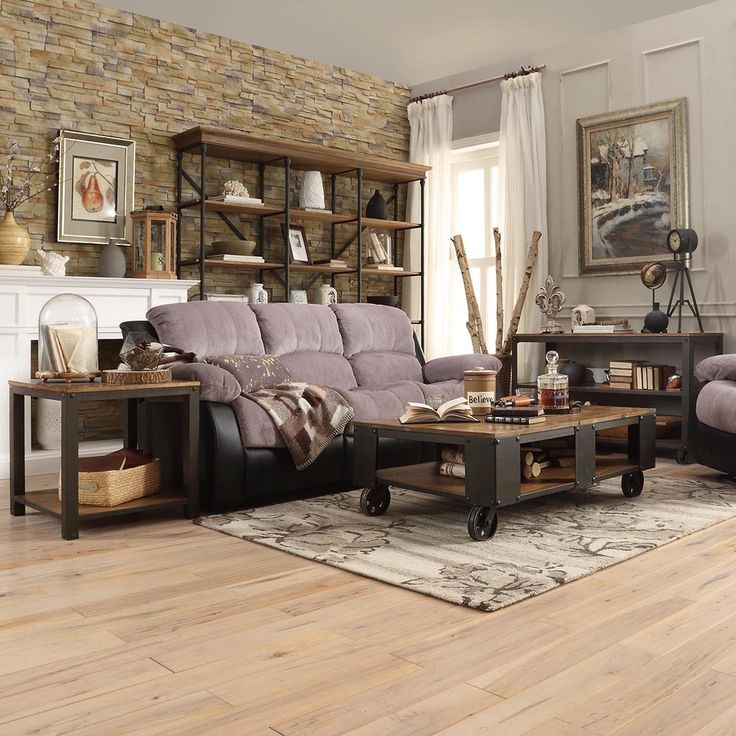 Granger Industrial Rustic Storage Occasional Table - Overstock Shopping - Great Deals on Coffee, Sofa & End Tables