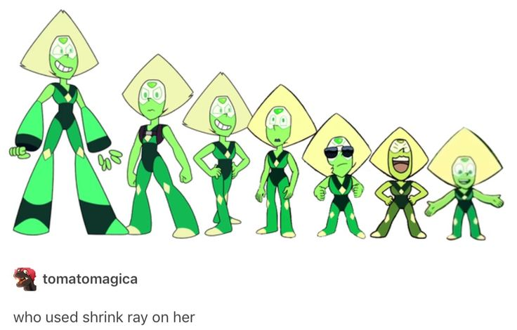 Dear Lord how short is Peridot gonna be by the time the show ends XD