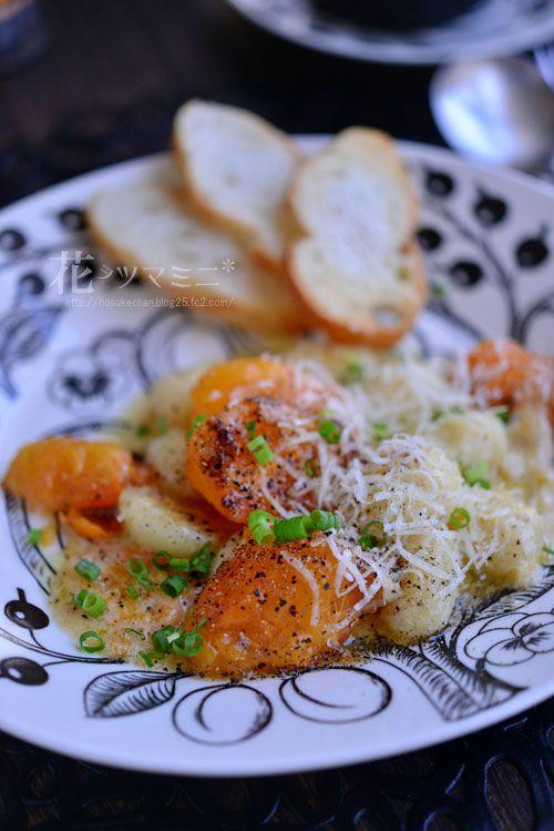 柿パルミジャーノニョッキ - KAKI parmigiano reggiano