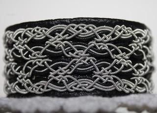 Dubbel SNÖFLINGA sami tin thread bracelets by Snövit