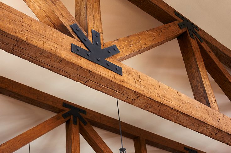 241 best images about ceiling trusses and arched beams on for Faux wood trusses
