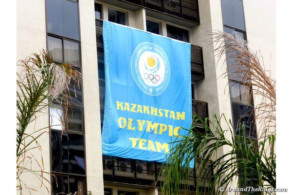 Kazakhstan Olympic Team on display (ATR)